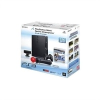 <DIV>Ensemble de console de jeu PlayStation 3 Slim de 320 Go avec manette de détection de mouvements PlayStation Move</DIV>
