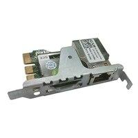 Étiquettes du support de bandes iDRAC Port Card Dell - Numéros d'étiquettes R430 à R530