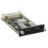 Dell PCT 62XX/M6220 à Double ports SFP+ module