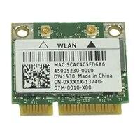 Sans fil : EMEA Dell Sans fil mini-carte 1530 (802.11 a/b/g/n )