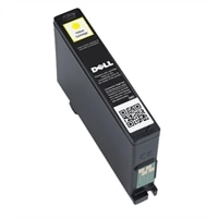 Cartouche d'encre jaune Dell V525w & V725w  haute capacité pour usage unique Dell - kit