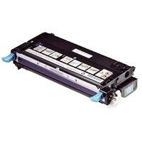 Dell 3130cn/3130cdn cartouche de toner cyan de capacite haute - 9000 pages