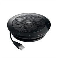 Jabra SPEAK 510 MS - Kit mains libres pour ordinateur VoIP USB - sans fil - Bluetooth 2.0