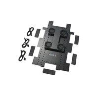 APC Roof Fan Tray - Tiroir pour ventilateur en rack (208/230 V) - noir - pour NetShelter SX Enclosure with Sides