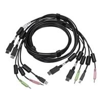 Avocent câble clavier/vidéo/souris/audio - 1.83 m
