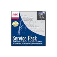 APC Extended Warranty Service Pack - support technique - 3 années