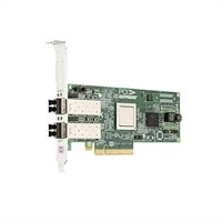 Dell Emulex LPE12002 Dual Channel 8Gb PCIe Scheda HBA, basso profilo