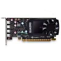 NVIDIA Quadro P600, 2GB, 4 mDP, Half Height, (Precision SFF)(kit per il cliente)