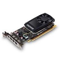 Quadro P1000, 4GB, 4 mDP, (Precision 3420) (kit per il cliente)