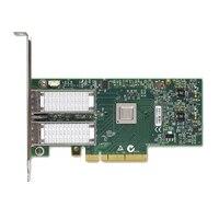 Scheda di rete Ethernet per server QSFP a 40 Gb Dual Port Dell Mellanox ConnectX-3 Pieno Altezza