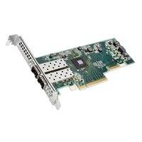 Dual Porte SolarFlare 8522 10Gb SFP+ scheda di interfaccia di rete Ethernet PCIe Dell pieno altezza
