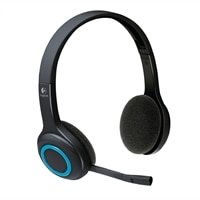 Logitech Wireless Headset H600 - Cuffia - wireless - 2,4 GHz