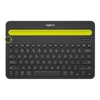 Logitech Multi-Device K480 - Tastiera - Bluetooth - Italiano - nero