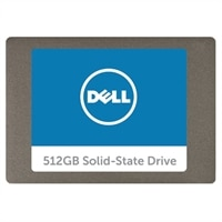 "Dell 512GB interna Disco rigido a stato solido (SSD) - 2.5"" SATA !"