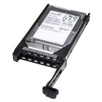 Dell 10,000 RPM SAS 6Gbps 2.5in ホットプラグ対応 3.5in HYB CARRハードドライブ - 600 GB