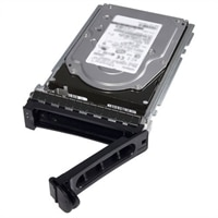 Dell 2TB 7200 RPM NLSASドライブ 512n 2.5インチホットプラグ対応ドライブ, 3.5インチハイブリッドキャリア