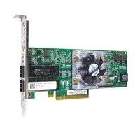 デル製 QLogic 8262 デュアルポート 10 ギガビット SFP+ Converged ネットワーク アダプタ - Low Profile