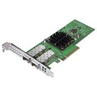 デル製 Broadcom 57404 SPF デュアルポート 25 ギガビットフルハイト アダプタ ギガビットイーサネットPCIe ネットワークインターフェイスカード
