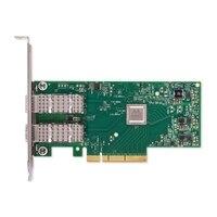 デル製 Melanox ConnectX-4 Lx デュアルポート  25GbE DA/SFP ネットワーク アダプタ, ロープロファイル, Customer Install