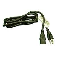 デルの電源コード 125 V - 9.8フィート