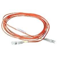 Dell マルチモード LC-LC  光ファイバケーブル - 16.40フィート