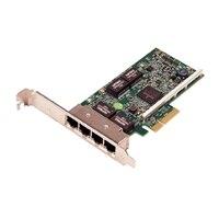 デル製 Broadcom 5719 クアッドポート 1 ギガビット サーバアダプタギガビットイーサネットPCIe ネットワークインターフェイスカード - Low Profile