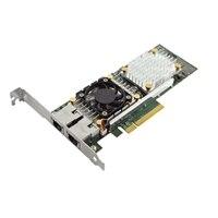 デル製 QLogic 57810  デュアルポート10ギガビットBase-Tネットワークアダプタ - ロープロファイル