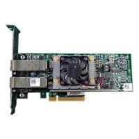 デル製 QLogic 57810S デュアルポート 10GB DA/SFP+ Coverged ネットワーク アダプタ - フルハイト-フルハイト