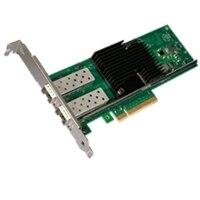 デル製 Intel X710 デュアルポート 10Gb ダイレクトアタッチケーブル, Converged ネットワーク アダプタギ , SFP+, ロープロファイル, Cuskit