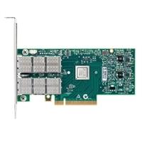デル Mellanox ConnectX-3 Pro 製 デュアルポート 40 GbE, QSFP+, PCIE アダプタ, 完全な高さ, V2, Customer Install