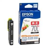 エプソン ICBK70L - ブラック - オリジナル - インクカートリッジ - エプソン EP-775A, EP-805A, EP-805AR, EP-805AW 用