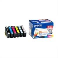 エプソン IC6CL70L - 色(シアン、マゼンタ、イエロー、ブラック、ライトマゼンタ、ライトシアン) - オリジナル - インクカートリッジ - エプソン EP-775A, EP-805A, EP-805AR, EP-805AW 用
