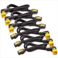 APC Power Cord Kit (6 ea) Locking C13 to C14 (90 Degree) 0.6m #AP8702R-WW