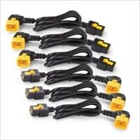 APC Power Cord Kit (6 ea) Locking C19 to C20 (90 Degree) 1.8m #AP8716R