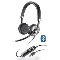 Plantronics Bluetooth対応の有線USBヘッドセット ブラックワイヤー C720-M(両耳)- MS Lync 推奨モデル #BLACKWIRE C720-M