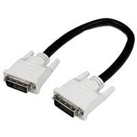 StarTech.com 1 ft DVI-D Dual Link Cable - M/M - DVIケーブル - 30 cm