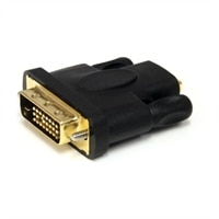 StarTech.com HDMI to DVI-D Video Cable Adapter - F/M - ビデオアダプタ - デュアルリンク - HDMI (F) to DVI-D (M) - ブラック
