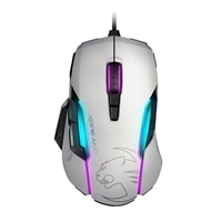 Roccat Kone AIMO-RGBA Smart Customization Gaming Mouse、white、AS Packaging #ROC-11-815-WE-AS