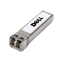 Dell 네트워크, 송수신기, SFP, 1GbE, ZX, 1550nm Wavelength, 80킬로미터 Reach on 9/125um SMF - Kit