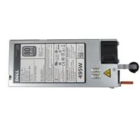 Single, Hot-plug 전원 공급 장치 (1+0), 495W ,CusKit