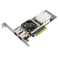 Dell QLogic 57810S이중의포트 10GbBase-T 서버 어댑터 이더넷 PCIe 네트워크 인터페이스 카드
