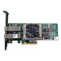 Dell QLogic 57810S 듀얼 포트 10 Gb DA/SFP+ 컨 버지 드 네트워크 어댑터-전체 높이