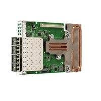 Emulex OneConnect OCm14104B-U1-D 4포트 10GbE rNDC CNA, V2, Customer Install