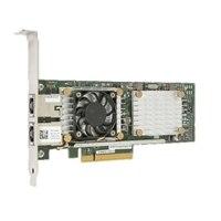 Dell QLogic FastLinQ QL45212-DE 전체 높이 이중의포트 25GbE SFP28 어댑터