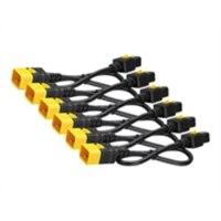 APC - 전원 케이블 - IEC 60320 C19 to IEC 60320 C20 - AC 240 V - 16 A - 1.22 m - 빗장이 걸린 - 블랙 - 에 대한 P/N: SMX3000RMHV2UNC