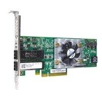 QLogic QLE8152 — 10 Gbps FCoE Converged Network Adapter met twee poorten