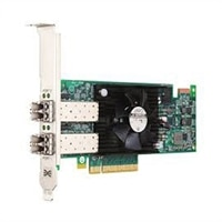 Dell Emulex LPe15002B-M8-D Fibre Channel-værtsbusadapter met twee poorten