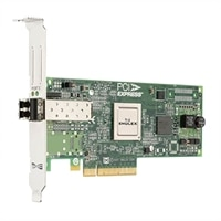 Dell Emulex LPE 12000, Single Port 8Gb Fibre Channel Host Bus Adapter, halve hoogte, CusKit