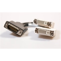 Kabel: DMS 59 naar Dual DVI dongle