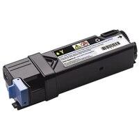 Geel tonercartridge met hoge capaciteit voor de Dell-laserprinter 2150cn/cdn / 2155cn/cdn (2500 pagina's)